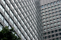 Office Building. Tokyo Office Building Stock Photo