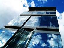 Office building. Over blue sky Stock Photos