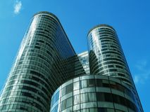 Office building. Modern building Royalty Free Stock Images