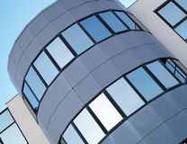 Office building. Detail of an office building Royalty Free Stock Images