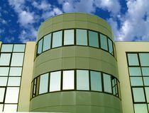 Office building. Detail of an office building Royalty Free Stock Photography