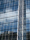 Office building. Modern office building with glass exterior Royalty Free Stock Image