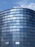 Office building. Modern office building and blue sky Royalty Free Stock Photography