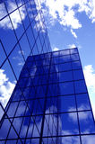 Office Building. Reflecting sky and cloud Stock Image