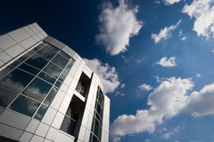 Office building. Modern office building and a nice sky Stock Image
