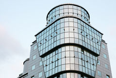 Office building. From metal and glass stock images