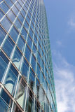 Office building. Modern glassy high rise office building Royalty Free Stock Images
