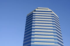 Office building. A high rise office building on a clear day in Orange County, Ca Stock Photos