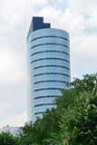 Office Building. Rising Above The Trees In A Central Park Royalty Free Stock Photography