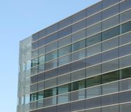 Office building. Glass and steel office building royalty free stock photography