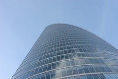 Office building. Against the blue sky Stock Photos