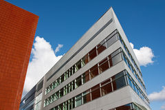Office building. Distorted perspective image of the office building Royalty Free Stock Photography