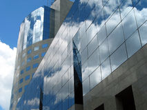Office building. A detail of a office building Royalty Free Stock Photography