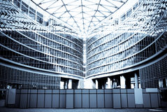 Office Building. Building used for offices of Milan, in Italy Royalty Free Stock Photos