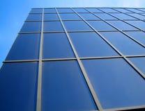 Office building. Hi-tech business office skyscraper building Vector Illustration