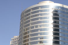 Office building. Under blue sky Stock Photo