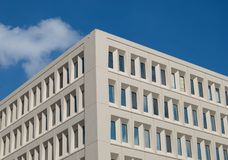 Office Building. Corner of an office building Royalty Free Stock Photo