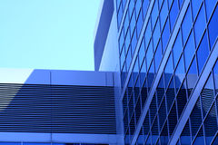Office Building. Modern office building with glass windows royalty free stock photo
