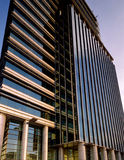 Office Building. Modern office building against blue sky Royalty Free Stock Photos