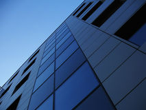 Office Building 9. Modern office building and blue sky Royalty Free Stock Photo