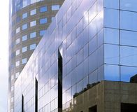 Office building. Glass building Royalty Free Stock Photos