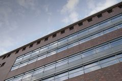 Office building. A view on a modern office building Stock Photography
