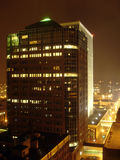 Office Building. In the with Night Royalty Free Stock Image