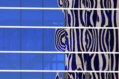 Office Building Abstract Reflection Stock Photography