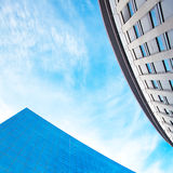 Office building against the blue sky Royalty Free Stock Photography