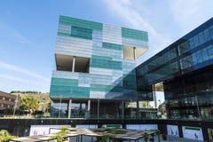 Office building of Arata Isozaki, Barcelona Royalty Free Stock Image