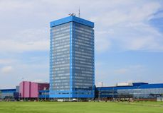 Office building AutoVAZ. Togliatti Royalty Free Stock Photography
