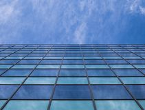 Office building in a big town. royalty free stock photography