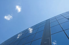 Office building on a blue sky Royalty Free Stock Photography