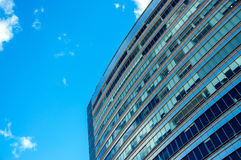 Office Building and Blue Sky royalty free stock photos