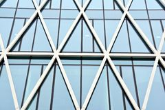Office building. Business building. Exterior of building. Modern office Corporate business glass building and   sky Royalty Free Stock Photos