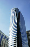 Office building in CBD area Royalty Free Stock Photography