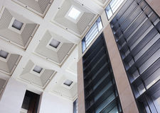 Office Building Ceiling Stock Photo