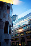 Office building in London by night Royalty Free Stock Photography