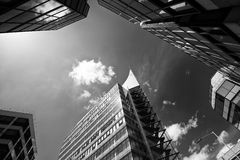 Office building close up Royalty Free Stock Photo
