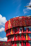 Office building. A colorful office building in gothenburg sweden stock photography