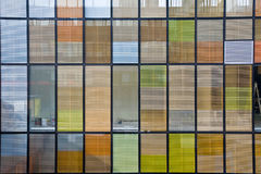Office building with colorful windows Royalty Free Stock Photos
