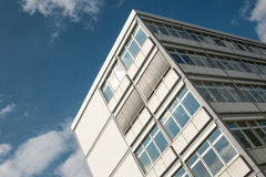 Office building of concrete Stock Image