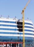 Office building construction stock photos