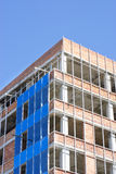 Office building construction site Royalty Free Stock Photography