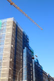 Office building construction site Stock Photography