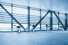 Office building corridor Stock Photo