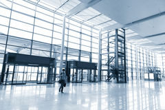 Office building corridor Royalty Free Stock Photos