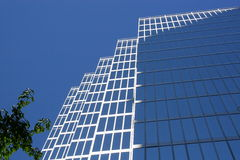 Office building downtown Royalty Free Stock Photography