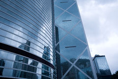 Office building in downtown Hong Kong. Stock Photography