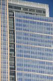 Blue Office Building in Downtown Seattle, Washington stock photography